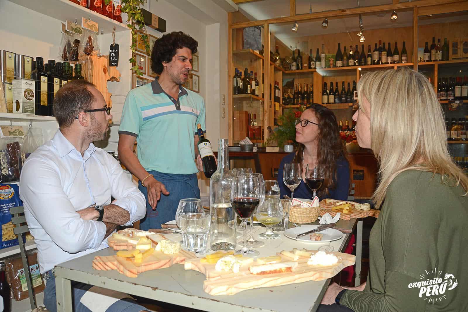 Peruvian Wines and Cheeses